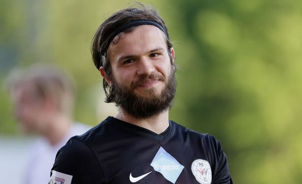 Lucas Kaufmann pelasi viime kaudella Veikkausliigaa PK-35 Vantaassa.