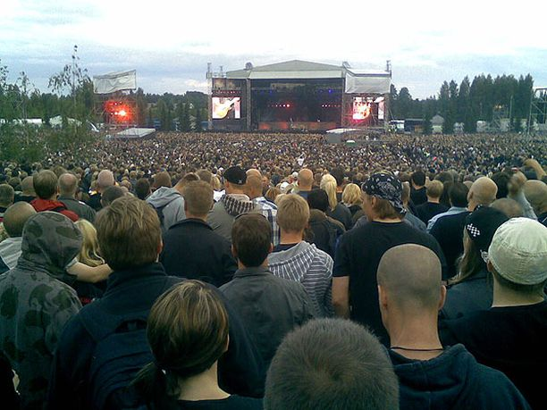 Meno paras! Linkin Park Porissa.