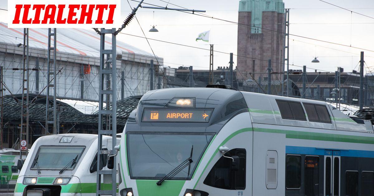 Junaliikenne keskeytynyt Helsingissä kokonaan kestosta ei tietoa