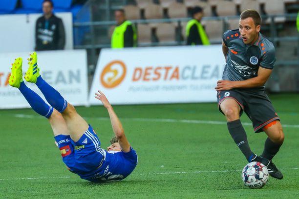 HJK kaatui Rigalle yhteismaalein 3-3.
