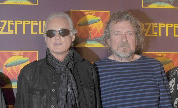 Jimmy Page ja Robert Plant astuvat oikeuden eteen tiistaina.