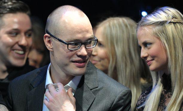 Jarkko ja Sofia Ruudun perheessä vietettiin sunnuntaina ristiäisiä.