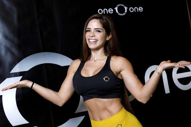 Michelle Lewin on maailmankuulu bikini fitnesstähti