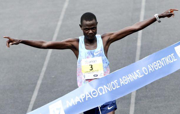Samuel Kalalei oli jo 138:s kärynnyt kenialaisurheilija 14 vuoden aikana.