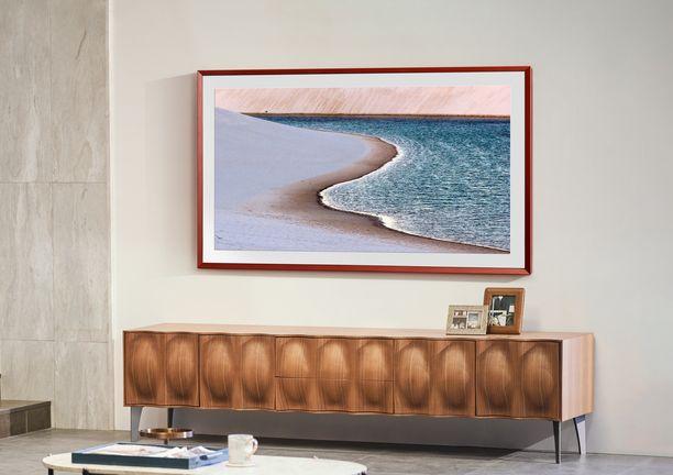 The Frame tuo kotiin kauniin minimalismin ja huipputeknologian ilman kompromisseja.