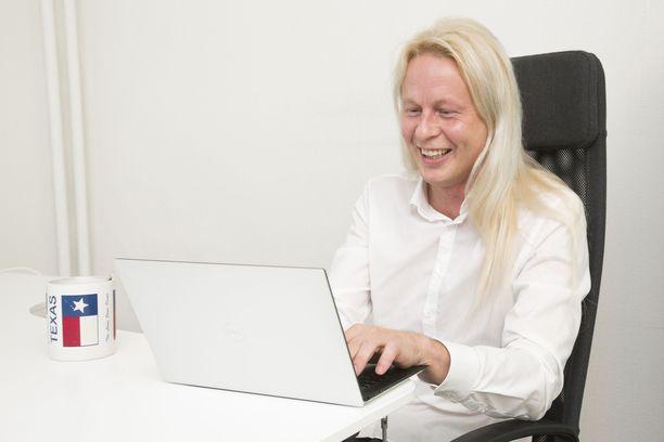 Leiki Oy:n perustaja ja toimitusjohtaja Petrus Pennanen aloitti ohjelmoinnin 11-vuotiaana.