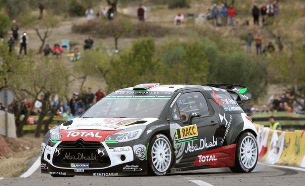Citroën-kuski Mads Østberg saattaa joutua ensi kaudella keskittymään vain testiajoon.