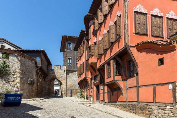 Portti Plovdivin vanhassakaupungissa.