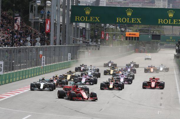 Katuratoja demokratian kehitysmaissa. Tätäkö F1 haluaa?
