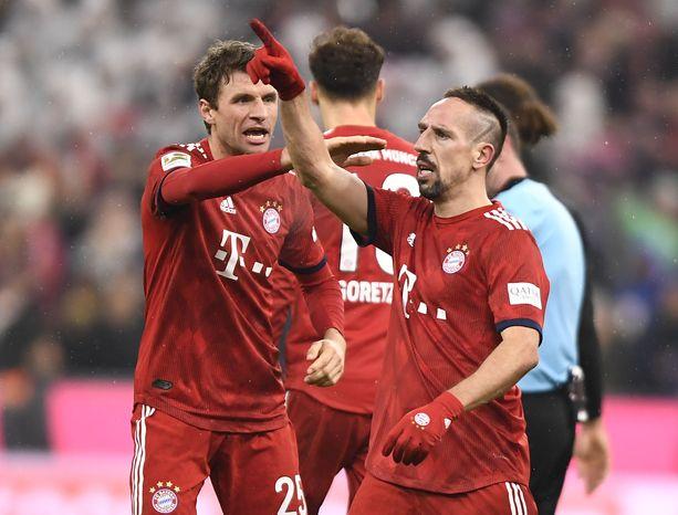 Franck Ribery ratkaisi.