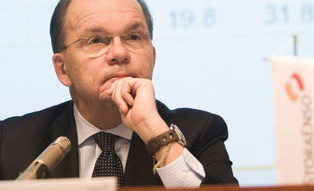 Stora Enson toimitusjohtaja Jouko Karvinen. Kuva vuodelta 2007.