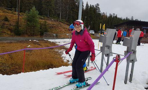 Rukalla päästiin tänä syksynä hiihtämään poikkeuksellisen aikaisin.