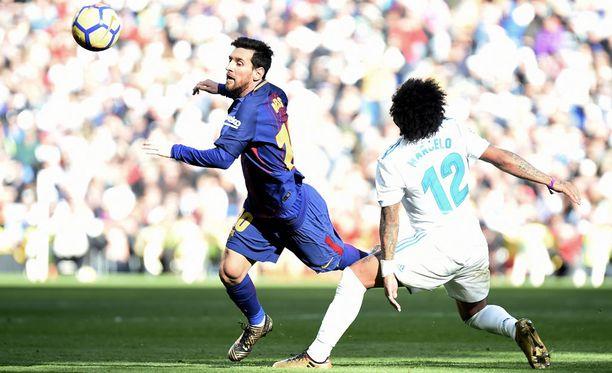 Lionel Messi ja kumppanit purjehtivat Real-puolustuksen läpi hämmentävän vapaasti.