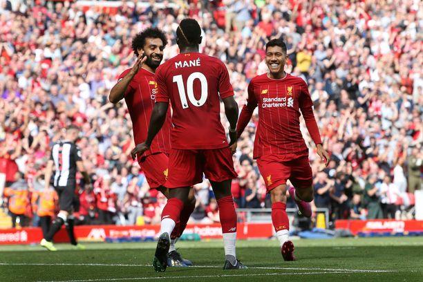 Liverpool on hyvin usein peliin lähdettäessä ennakkosuosikki.