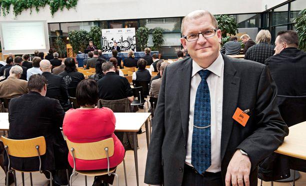 Metalliliiton puheenjohtaja Riku Aalto on halutessaan vahva ehdokas SAK:n uudeksi puheenjohtajaksi.