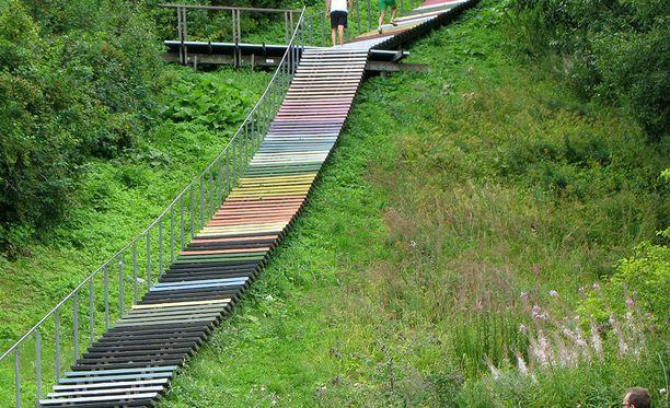 Malminkartanon portaat näyttävät tällä hetkellä tältä.