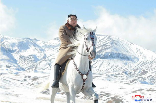 Paektu-vuori on pyhä vuori pohjoiskorealaisille.
