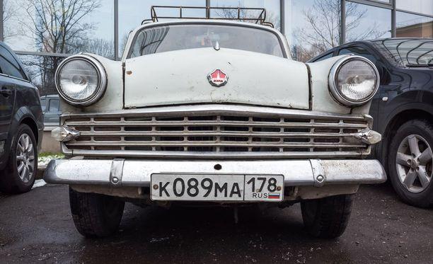Moskvitsh oli ensimmäinen Suomen markkinoille tuotu neuvostoauto.