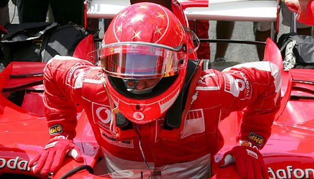 Michael Schumacher vakuuttaa, että hän ei osallistu enää mihinkään sarjaan.