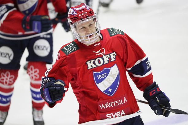 HIFK:n Teemu Tallberg juhli 400:tta liigaotteluaan tehoin 1+1.