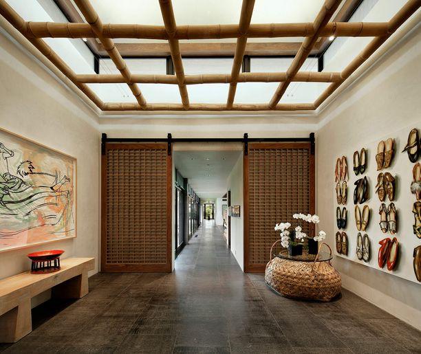 Tämä voisi olla Balilla sijaitsevan luksushotellin aula.