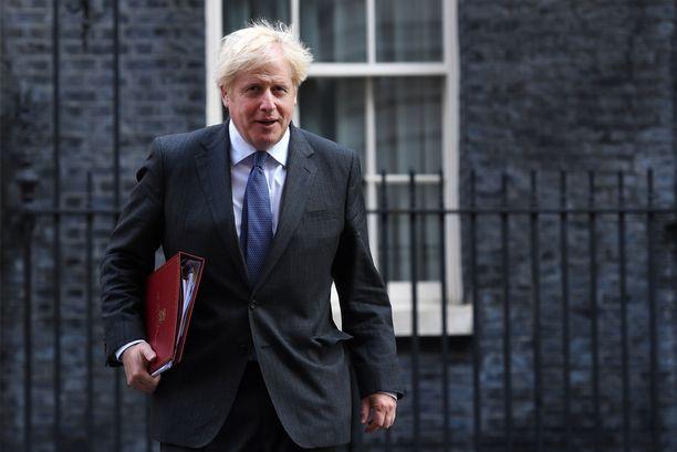 Ison-Britannian pääministeri Boris Johnson.