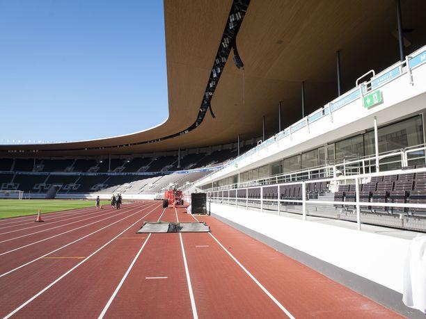 Olympiastadionin portit aukeavat isolle yleisölle ensimmäisen kerran keskiviikkona.