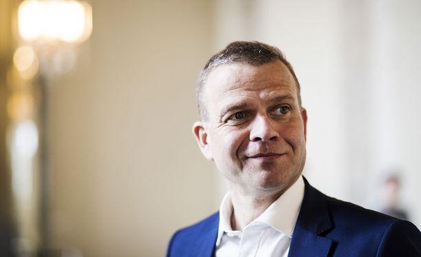 Petteri Orpo on hyvillään huipputapaamisesta Helsingissä.