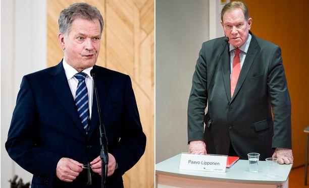 SDP:n Mauno Koiviston kunniaksi järjestetyssä muistelutilaisuudessa entinen demaripääministeri Paavo Lipponen latasi tiukan kuitin tasavallan presidentti Sauli Niinistölle.