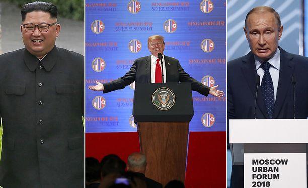 Amerikkalaistutkija Jeffrey Edmonds arvioi Trumpin näkevän Putinin ja Kim Jong-unin kaltaiset hallitsijat vahvoina johtajina.