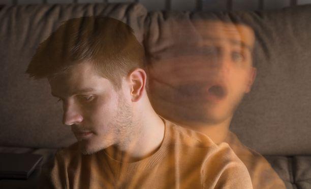 Aikuisista ainakin prosentin verran sairastaa kaksisuuntaista mielialahäiriötä. (Kuvituskuva)
