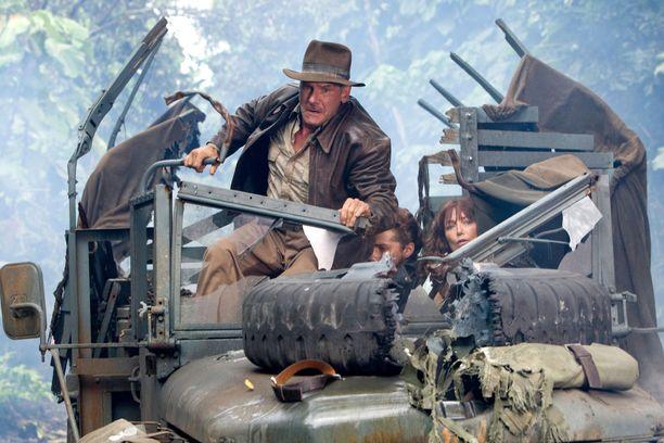 Indiana Jonesin tarina jatkuu.