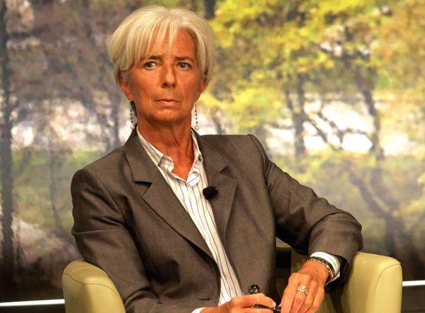 Christiane Lagarden mielestä kreikkalaistenkin on maksettava veronsa.
