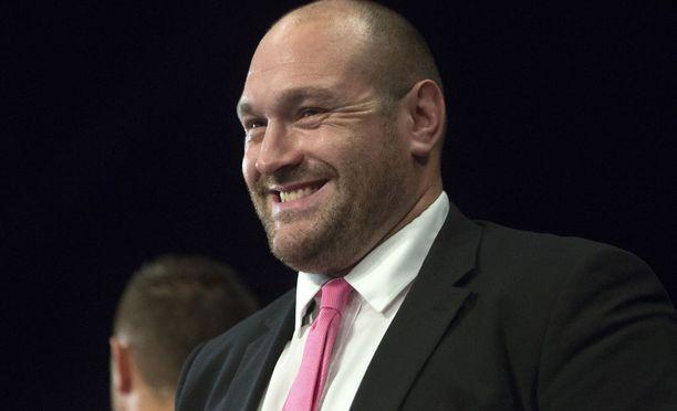 Tyson Fury kukisti Vladimir Klitshkon kaksi vuotta sitten, mutta katosi sitten huipulta.