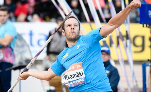 Tero Pitkämäki kaipaa lisää varmuutta huippuheitosta huolimatta.