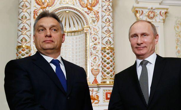 Putinia eivät henkilökohtaiset välit kiinnosta, sanoo Orbán.
