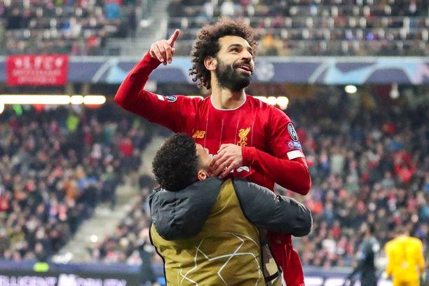Mo Salah tuuletti Liverpoolin 2-0-voittoa.