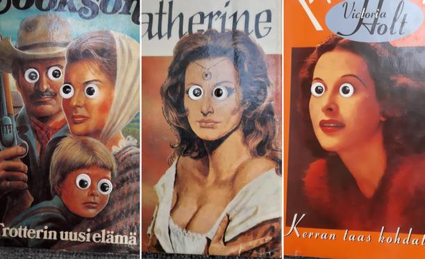Romantiikka-genren teosten tähtöset saivat Järvenpään kaupunginkirjastossa uuden ilmeen.