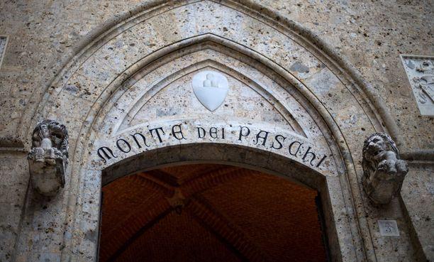 Monte dei Paschi on vaikeuksissa.