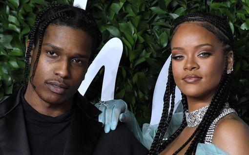 Rihanna seurustelee pahoinpitelystä tuomitun räppäri Asap Rockyn kanssa