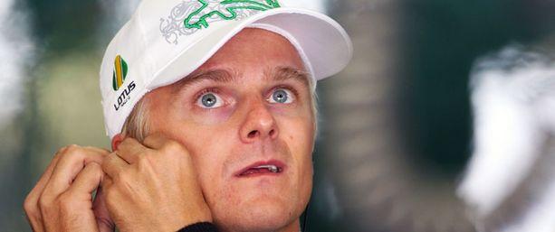 Heikki Kovalaisella oli kerrankin syytä hymyyn.