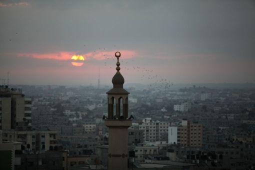 Gazan kaupunki Palestiinassa.