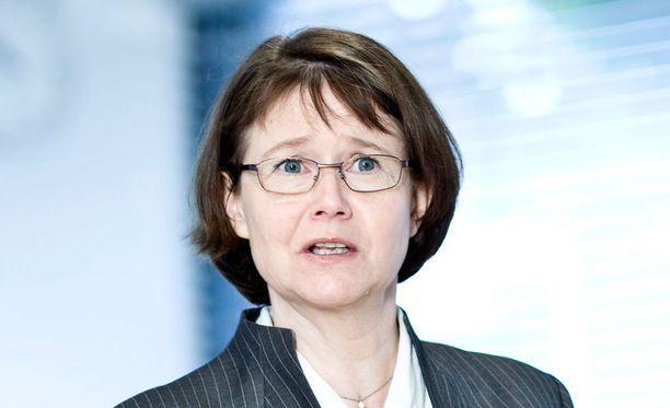 Syyttäjä vaatii Aalto-yliopiston rehtorille Tuula Teerille (kuvassa)rangaistusta työntekijöiden edustajan oikeuksien loukkaamisesta.