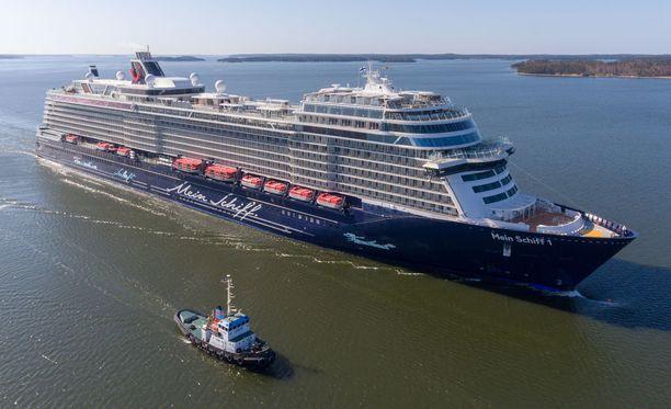 Uusi Mein Schiff 1 on jo viides Turussa rakennettu TUI Cruisesin alus.