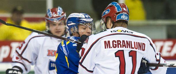 Markus Granlund onnistui Raumalla.