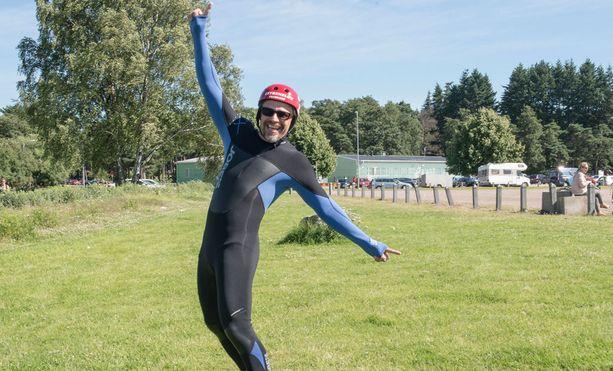 Teuvo Loman on viihtynyt viimeaikoina salilla ja pudottanut painoaan 17 kiloa.
