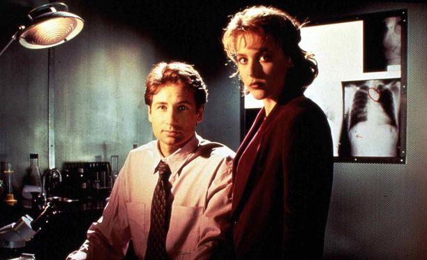 Fox Mulder oli innostunut yliluonnollisesta, Dana Scully toppuutteli.