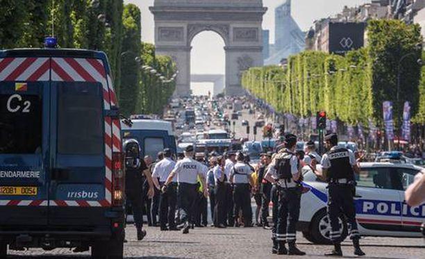 Viranomaisten mukaan isku oli poliiseja vastaan.