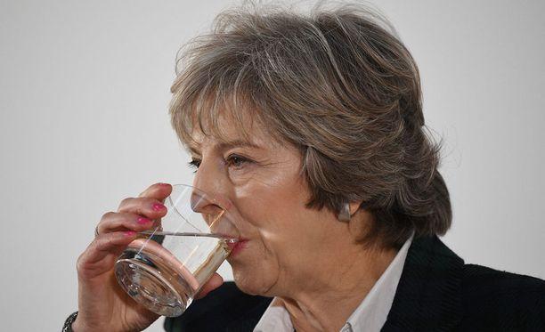 Pääministeri Theresa May.