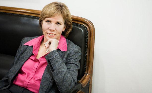 Anna-Maja Henriksson on uusi RKP:n puheenjohtaja.